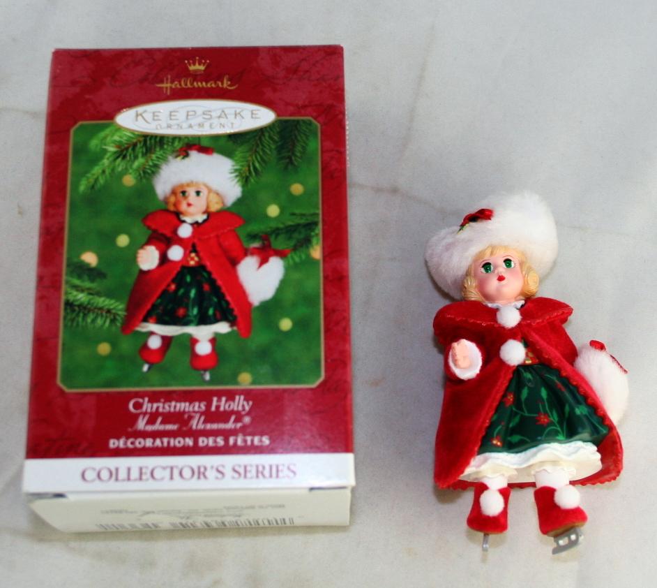 vintage christmas,Hallmark,Madame Alexander,Series,Christmas Holly,2000