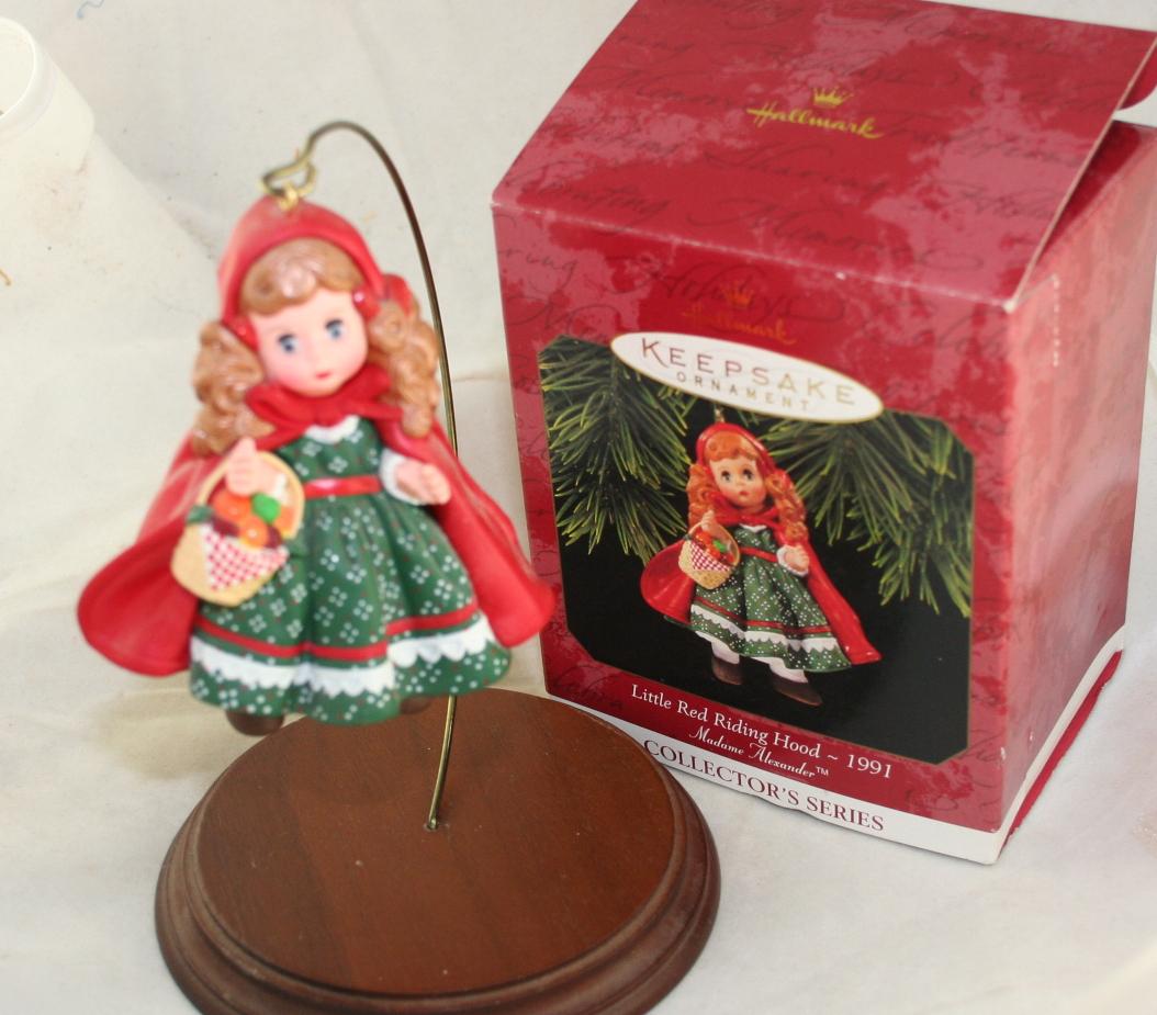 vintage christmas,Hallmark,Madame Alexander,Series,Little Red Riding Hood,1997