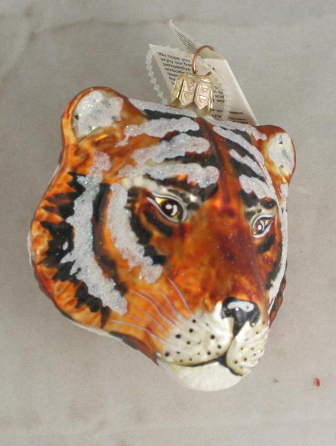 vintage christmas,Slavic Treasures,2008,tiger head
