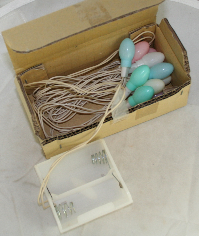 Easter,egg,lights,battery operated,Carol Wright