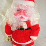 vintage Santa,walking,Taiwan,musical,battery operated