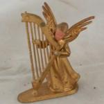 vintage,plastic,Hong Kong,angel,harp