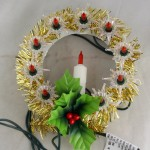 vintage lights,wall hanging,candle,miniature,starburst