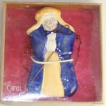 Christmas,ornament,ceramic,nativity,Joseph