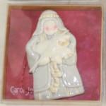 Christmas,ornament,ceramic,nativity,shepherd