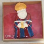 Christmas,ornament,ceramic,nativity,wiseman