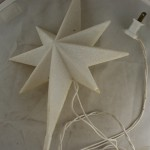 vintage treetop,Jerusalem star,plastic,miniature lights,fused