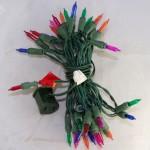 vintage light string,miniature,3.5V