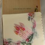 vintage ephemera,napkins,Japan,rice paper