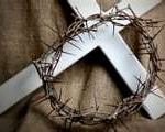 good friday,cross,crown of thorns