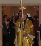 easter vigil,procession,relighting candle