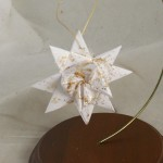 Folded Paper Stars, German Stars or German Star Ornaments, Swedish Stars, Moravian Stars, Froebel's Stars, Christmas Stars, Origami Stars, Star Ornaments, Ribbon Stars