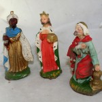 Made in Italy Wisemen Plaster Figurines