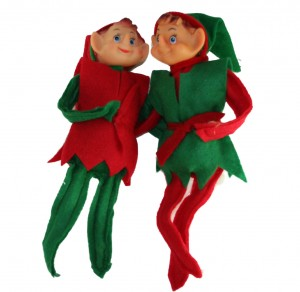 Poseable Vinyl Head Elves (Elf on the Shelf)