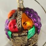 Rauch Fruit Basket Figural Glass