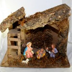 4 Figure Fixed Nativity Set