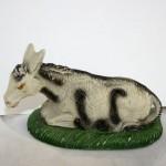 Plaster Nativity Donkey,Italy